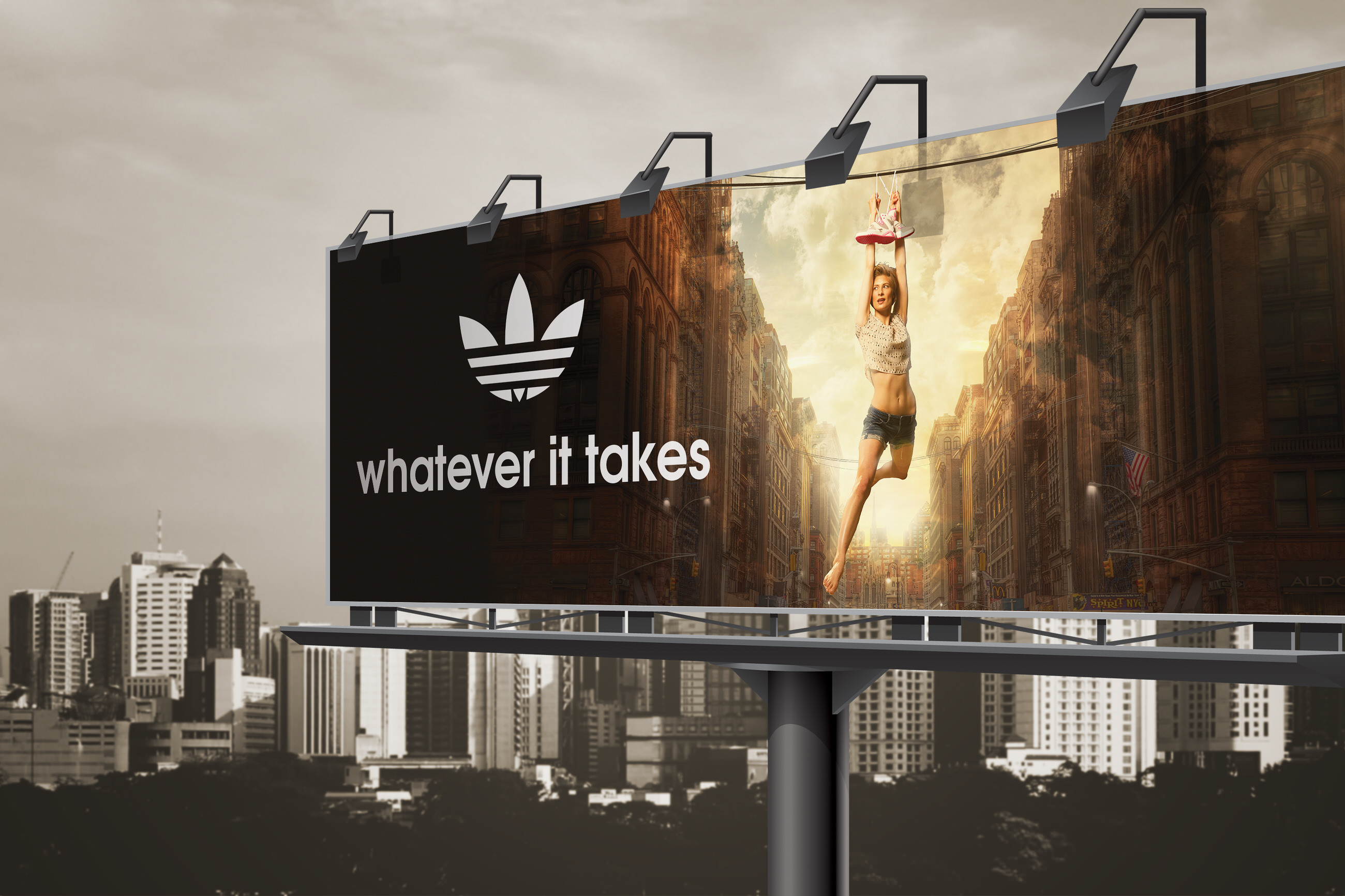 Adidas Shoes Advertisement